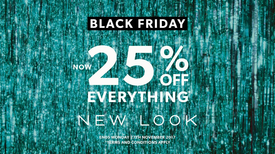 25% OFF EVERYTHING AT NEW LOOK
