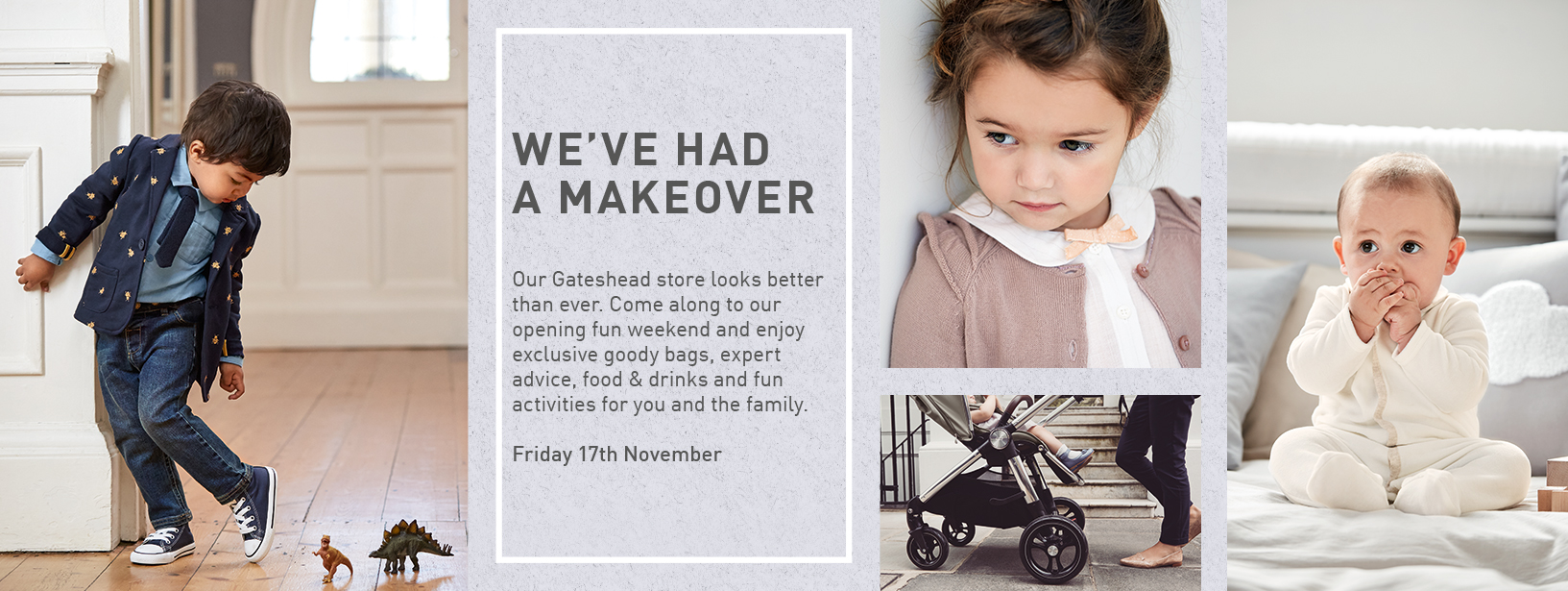 MAMAS & PAPAS STORE MAKEOVER OPENING WEEKEND