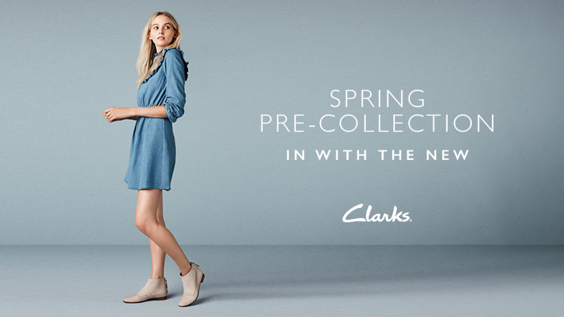 Move Your Wardrobe From Sping to Winter at Clarks