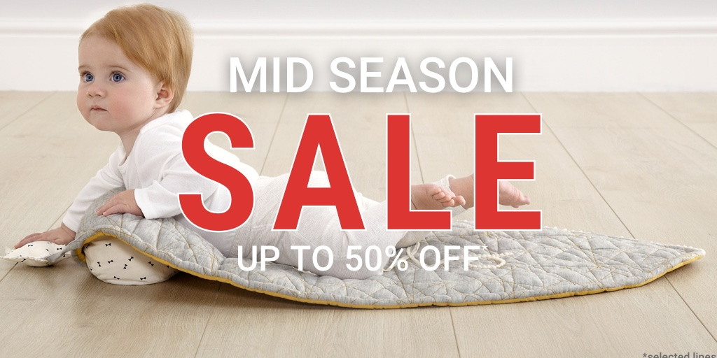 Mamas and Papas Mid-Season Sale!