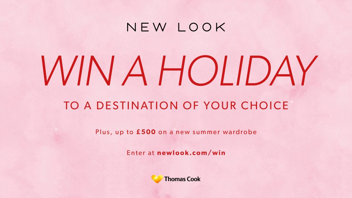 Win a Holiday & Summer Wardrobe at New Look!