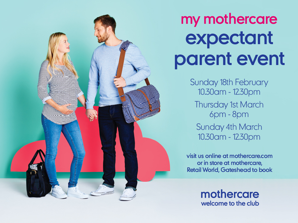 Expectant Parent Event at Mothercare *RESCHEDULED*
