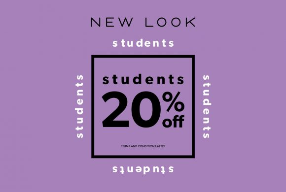 20% OFF STUDENT DISCOUNT AT NEW LOOK