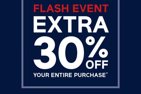 FLASH EVENT AT GAP THIS WEEKEND