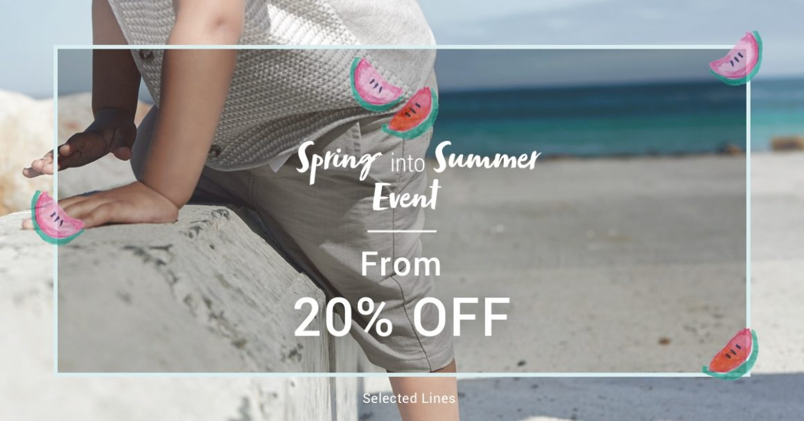 SPRING INTO SUMMER WITH MAMAS & PAPAS