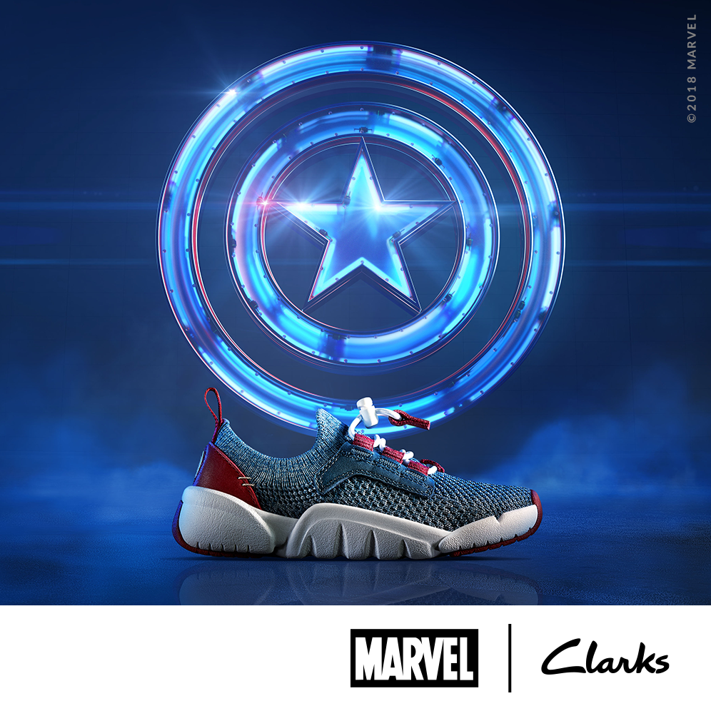 SS18 MARVEL WHOLESALE CAPTAIN AMERICA TRI
