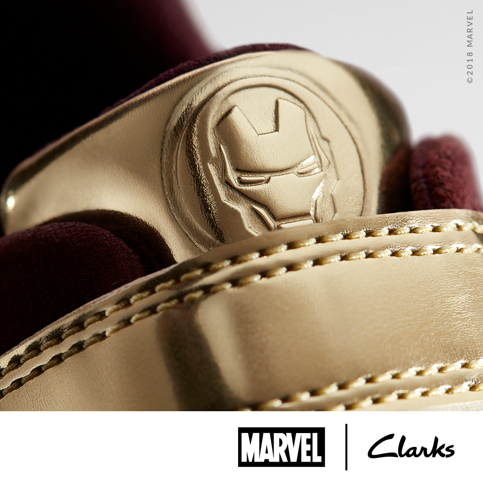MARVEL X CLARKS COLLABORATION