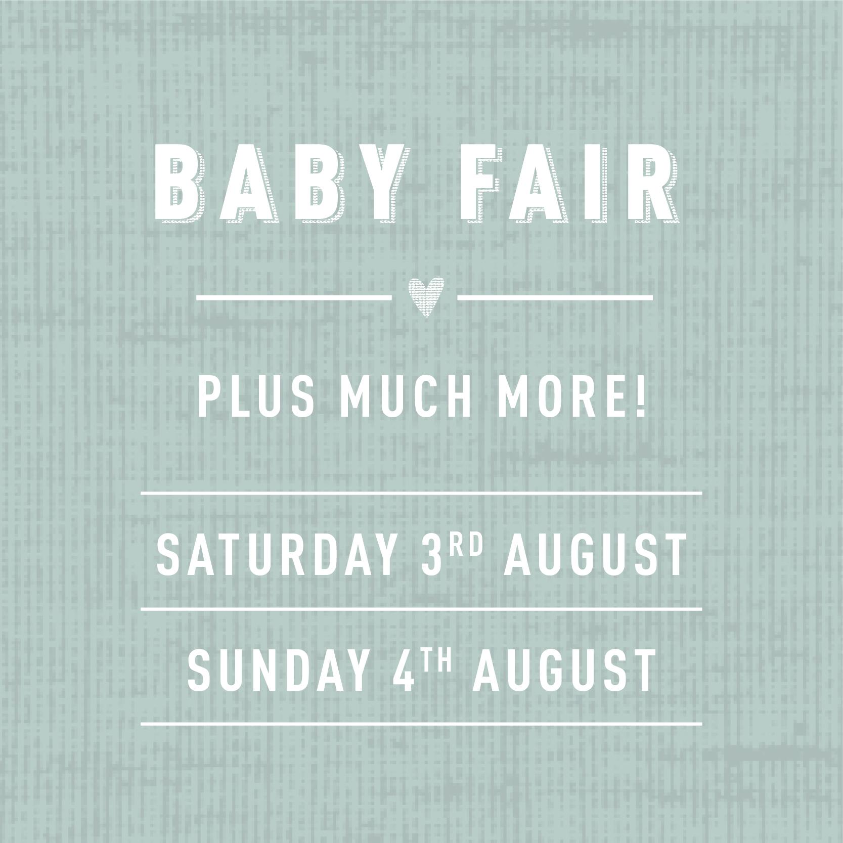 Baby Fair at  Mamas & Papas Retail World