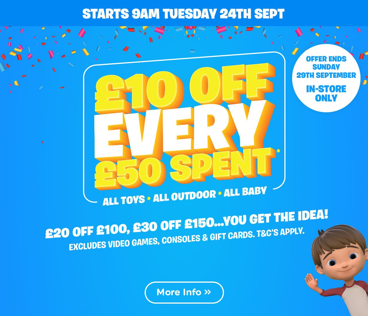 Smyths Toys Offer