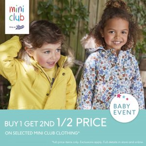 Boots Mini Club Baby Event is Here!