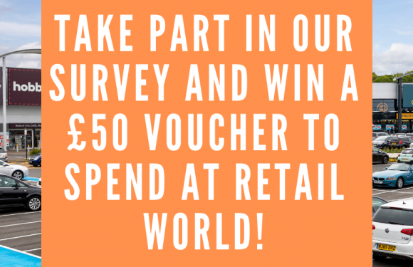 WIN £50 to Spend at Retail World With Our Survey!